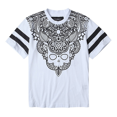 [하이드로겐] COLLEGE TATTOO T-SHIRT H-200018-H001