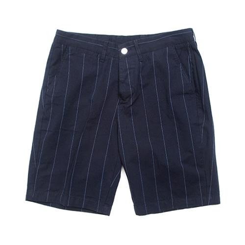 [하이드로겐] Icon Chinos Shorts Special Blue Navy Stripe White