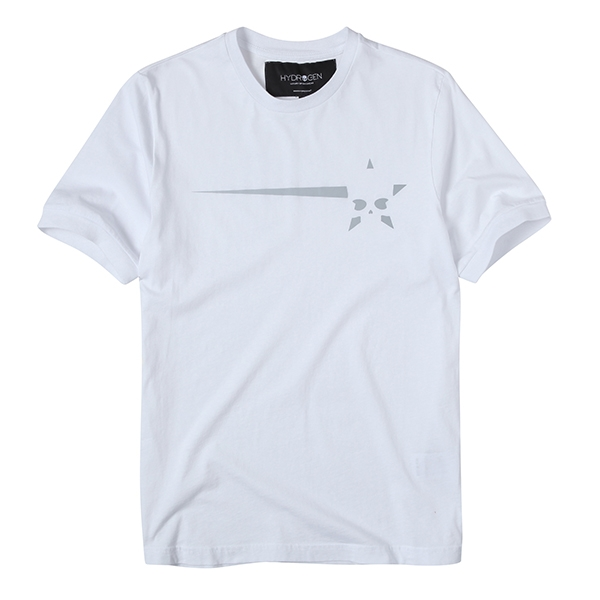 [하이드로겐] STAR AND SKULL T-SHIRT