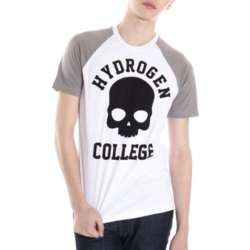 [하이드로겐] Sportswear college t-shirt