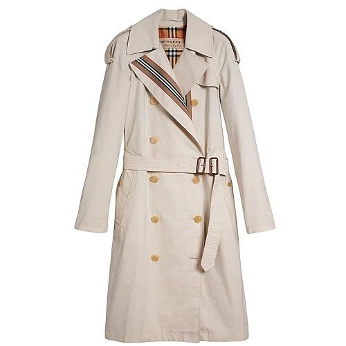 [PJ]버버리 8002521 / 여성 개버딘 트렌치 코트