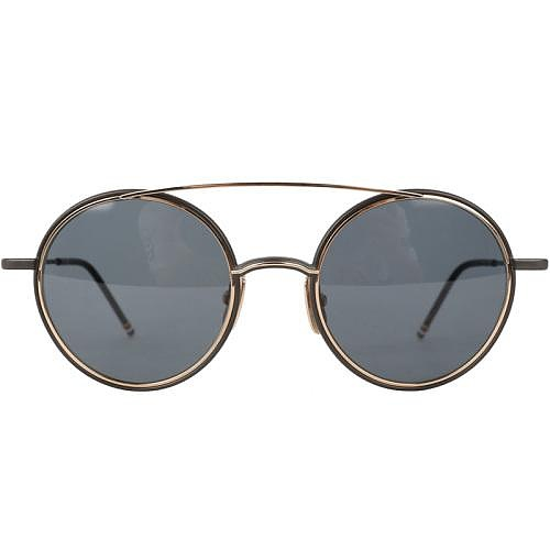 톰브라운 19SS TB108ATBLKGLD50 블랙 선글라스