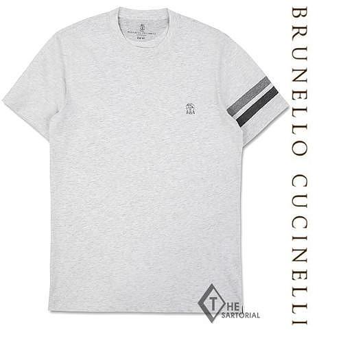 [더사토리얼] 19SS 브루넬로쿠치넬리 리미티드에디션 코튼 반팔 티셔츠