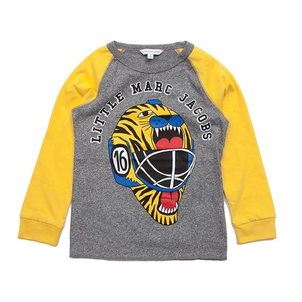 [리틀 마크제이콥스] 롱슬리브 티셔츠 W25235 Grey Yellow