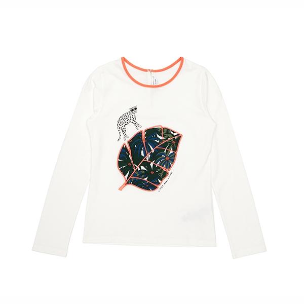 [리틀 마크제이콥스] 롱슬리브 티셔츠W15251 Off White