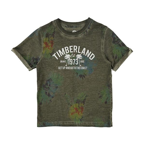 [팀버랜드]키즈 라운드 반팔 티셔츠-T25M69_688