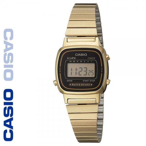 CASIO 카시오 LA670WGA-1 메탈밴드 디지털 빈티지 전자시계