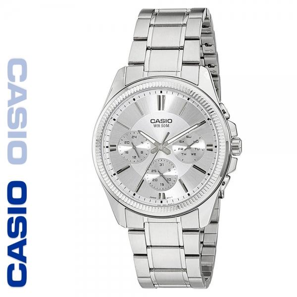 CASIO 카시오 MTP-1375D-7A 크로노그래프 메탈 시계