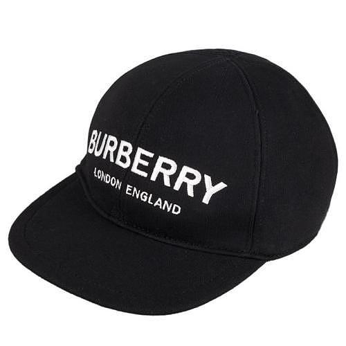 버버리 키즈 로고 모자 8010948