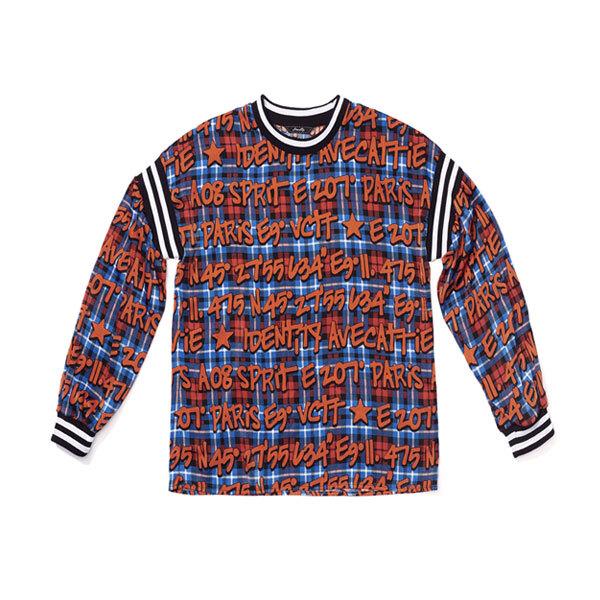 [아베까띠] 프린트 셋업 티셔츠 오렌지 - AI3TL551_ORA