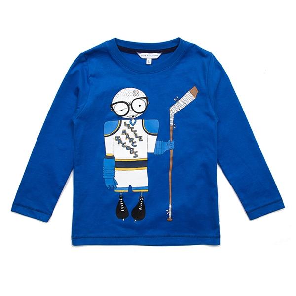 [리틀 마크제이콥스] 긴팔 티셔츠 W25233 Electric Blue