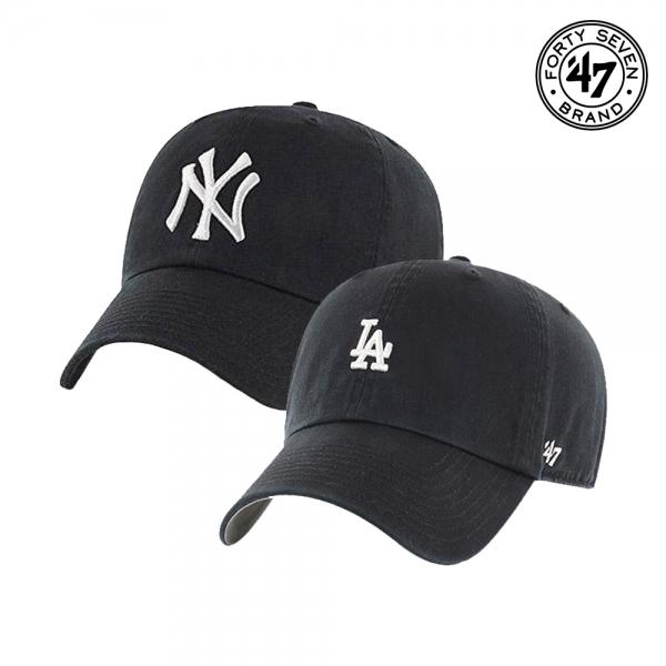 47브랜드 뉴욕양키스 LA다저스 클린업 볼캡