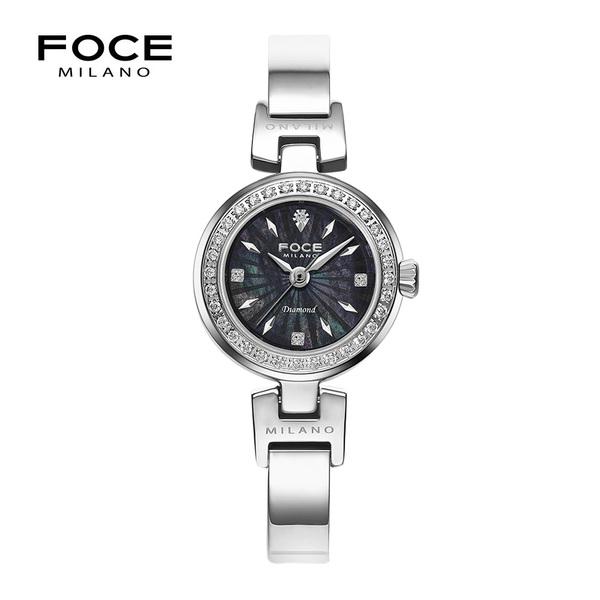 포체밀라노 21mm 여성 다이아몬드 메탈시계 FM1930BK