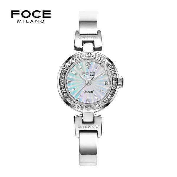 포체밀라노 21mm 여성 다이아몬드 메탈시계 FM1930WH