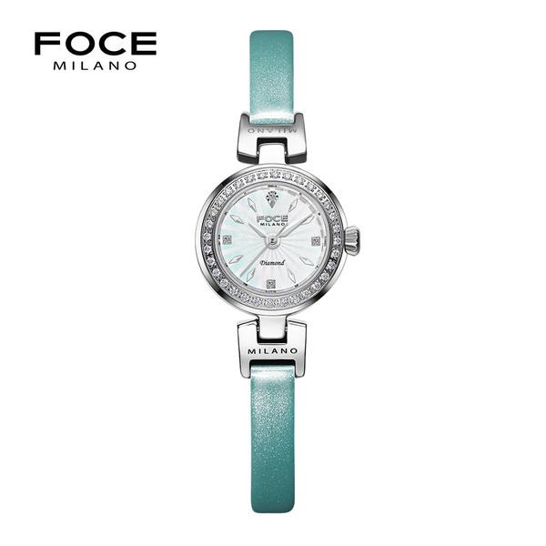 포체밀라노 21mm 여성 다이아몬드 가죽시계 FM1930L-WH