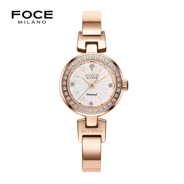 포체밀라노 21mm 여성 다이아몬드 메탈시계 FM1930RG