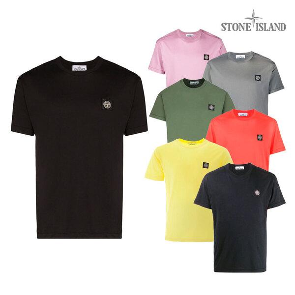 스톤아일랜드 로고 반팔 티셔츠 721524113