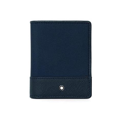 [몽블랑 MONTBLANC] 118400 / 사토리얼 제트 3단 명함 카드지갑(네이비) 프리스로우