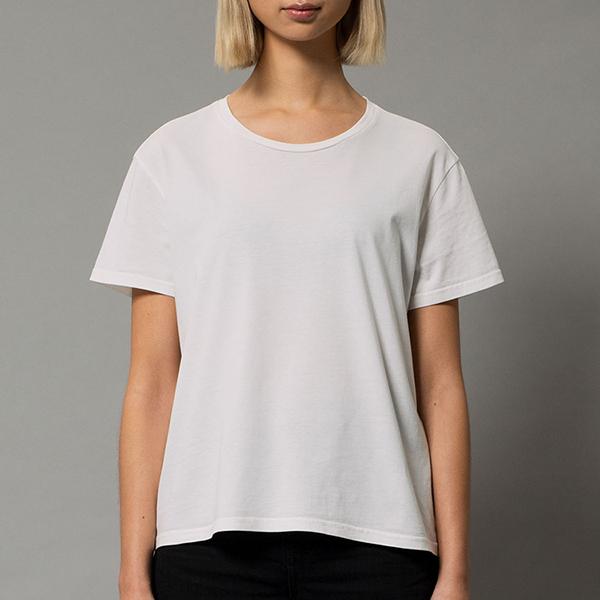 [누디진] 리사 크롭 티셔츠 131696