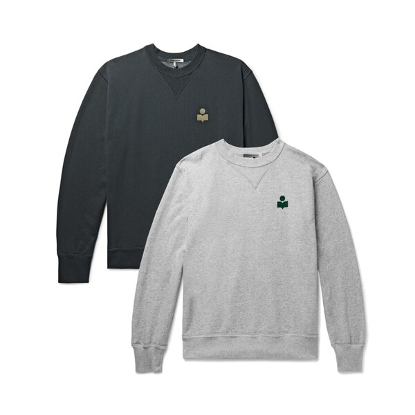 이자벨 마랑 마이크 로고 맨투맨 티셔츠 2 컬러 20ASW0057