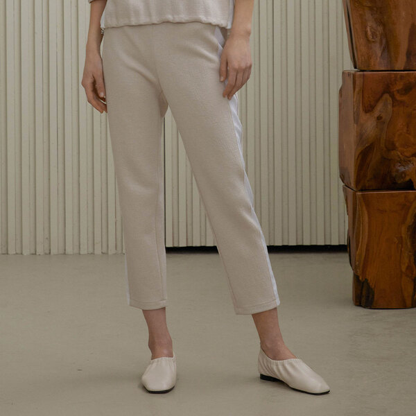 Side point banding baggy pants M1A316