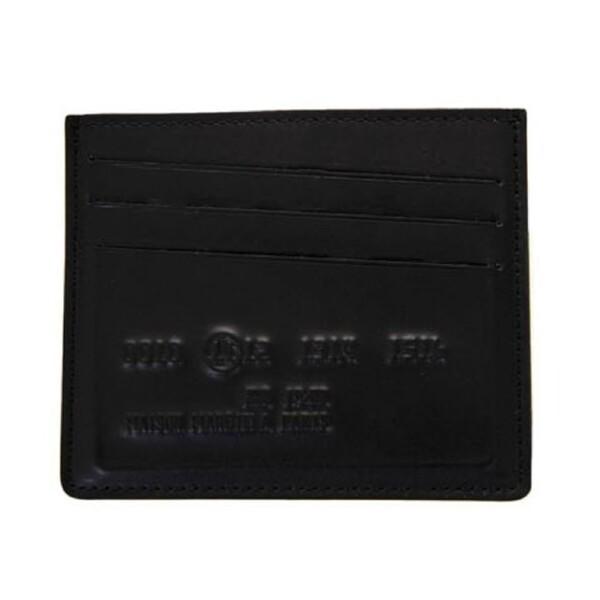 메종 마르지엘라 시그니처 로고 카드지갑 블랙 S55UI0145 SY0968 900
