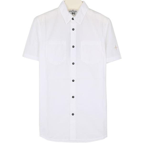 스톤키즈 701610401 V0001 자수 반팔 셔츠