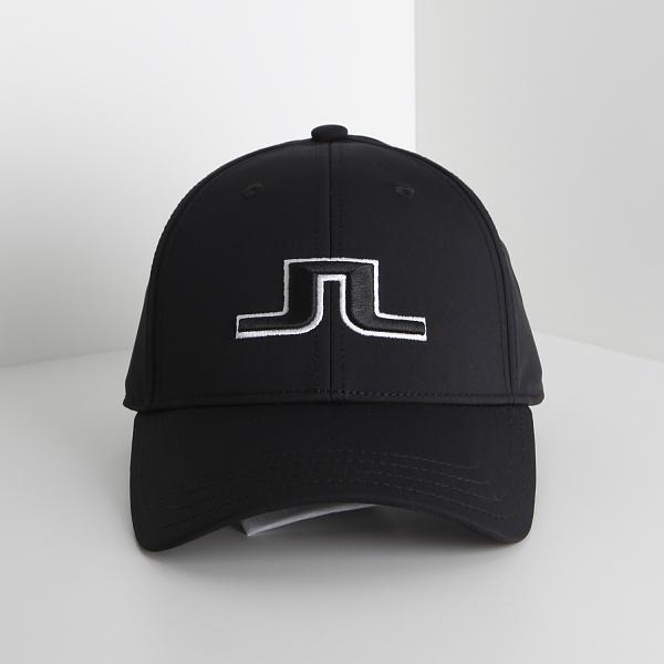 21SS 앵거스 골프 로고캡 블랙블랙