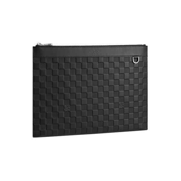 [루이비통] 디스커버리 포쉐트 다미에 인피니 클러치 (블랙) N60112