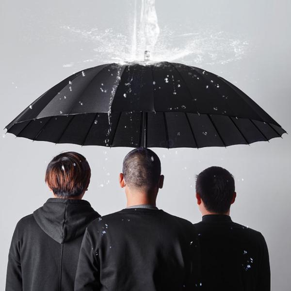 태풍와도 끄떡없는 초대형 튼튼 장우산