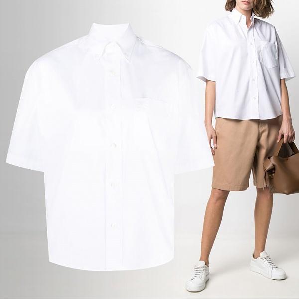 [당일]21SS하트 로고 오버핏 반팔 셔츠 E21FC251 426 100